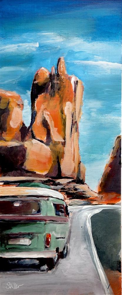 """1955 Arizona Bulli"" original fine art by Dietmar Stiller"