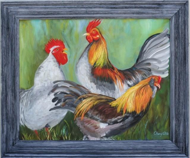 """Untitled"" original fine art by Cheryl Pitts"