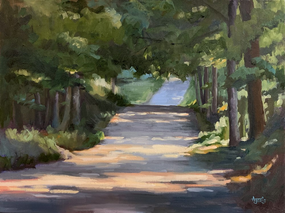 """The Road I Travelled"" original fine art by Andrea Jeris"