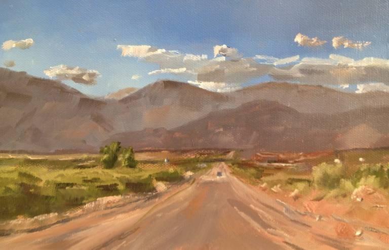 """California Desert"" original fine art by Gary Bruton"