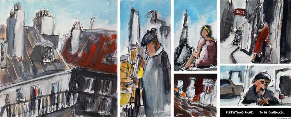 """2043 A Short Story in Paintings - Part 2"" original fine art by Dietmar Stiller"
