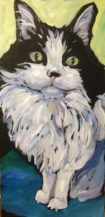 """Prince Charles"" original fine art by Kat Corrigan"