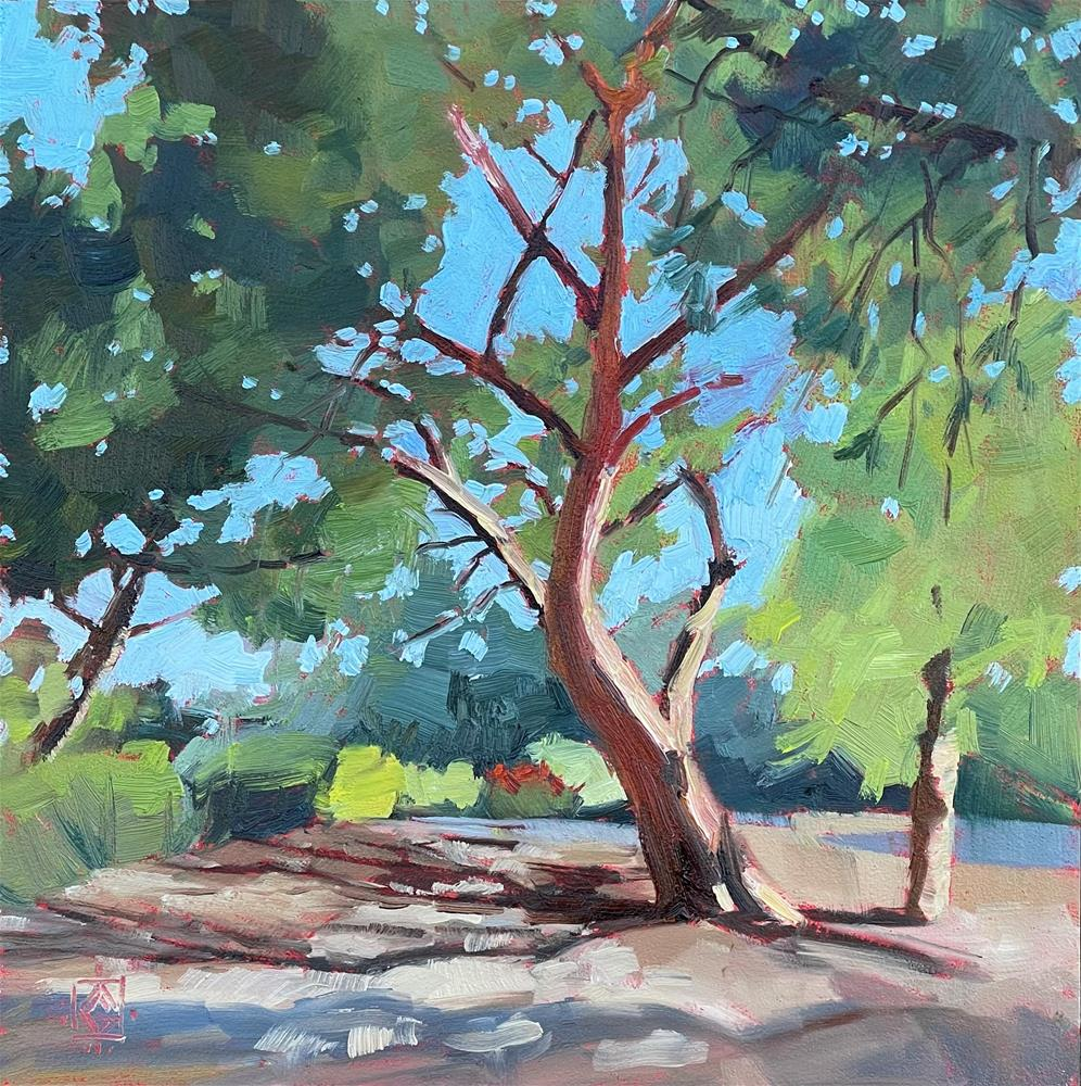 """Tree Portrait"" original fine art by Carol Granger"
