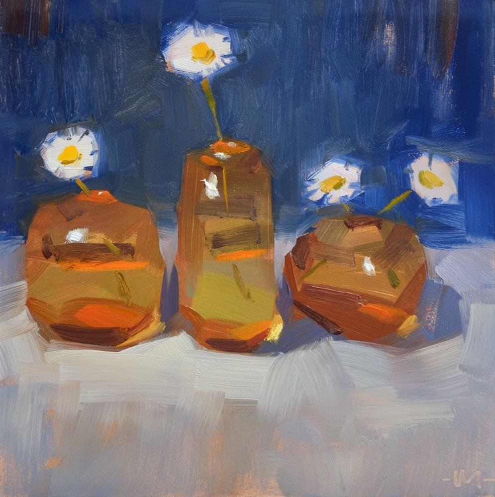"""Spring in Glass"" original fine art by Carol Marine"