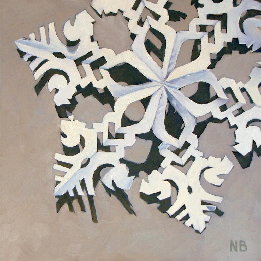 """""""Paper Cut"""" original fine art by Nora Bergman"""