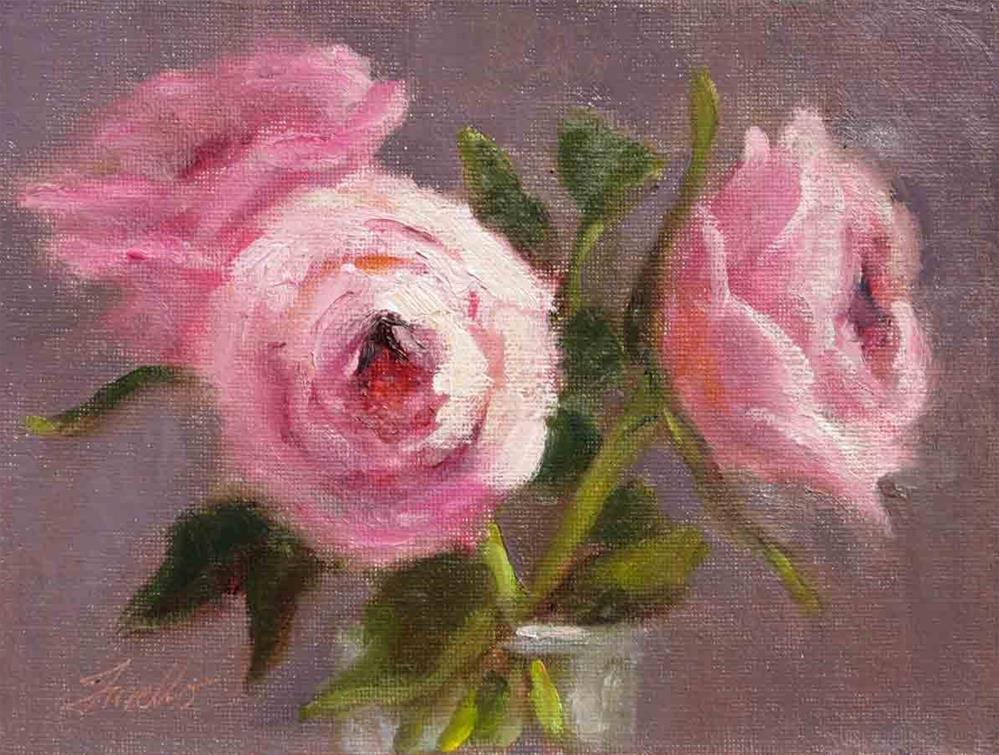 """""""Trio"""" original fine art by Pat Fiorello"""