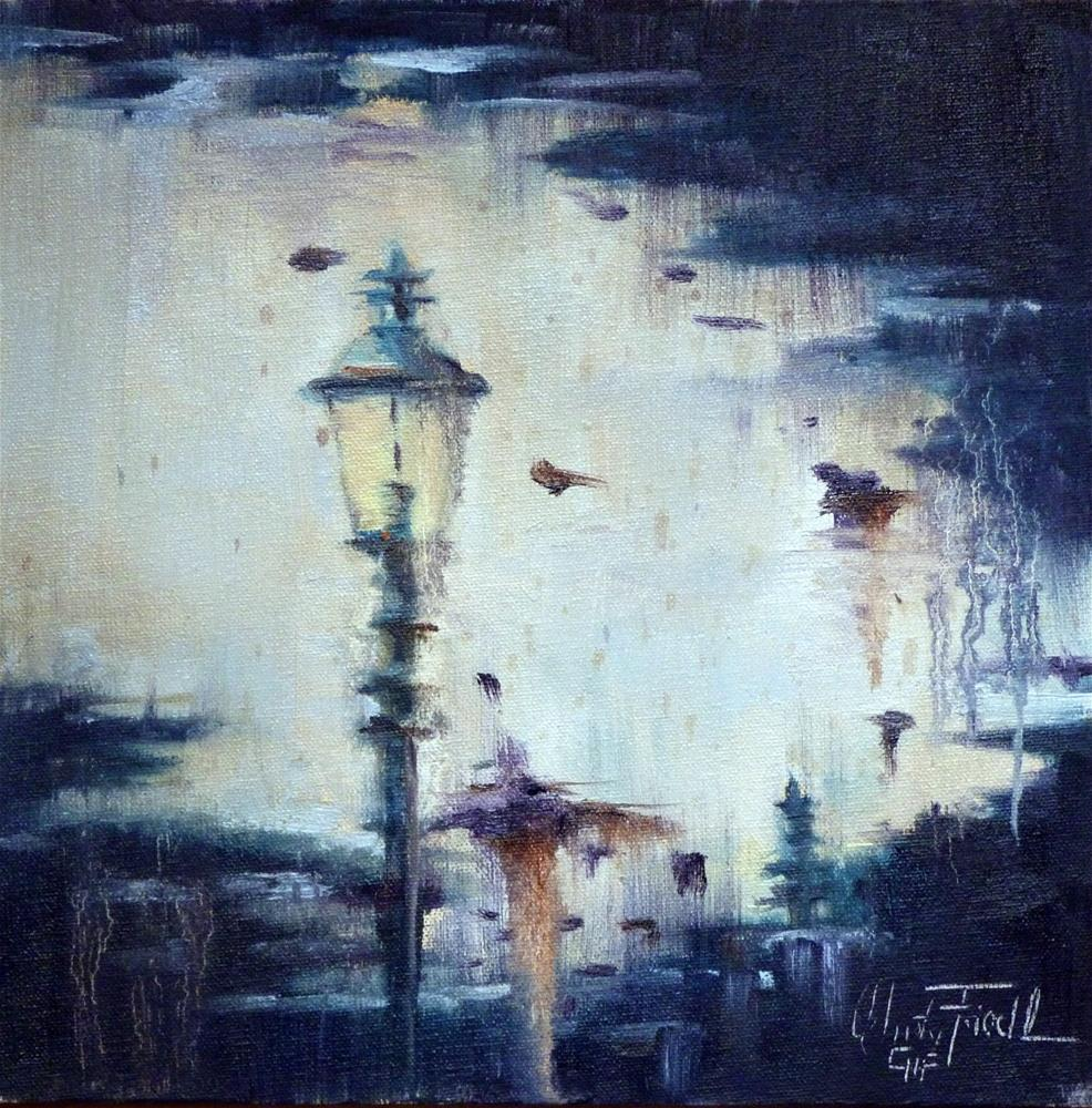 """""""Reflection – Spiegelung"""" original fine art by Christa Friedl"""