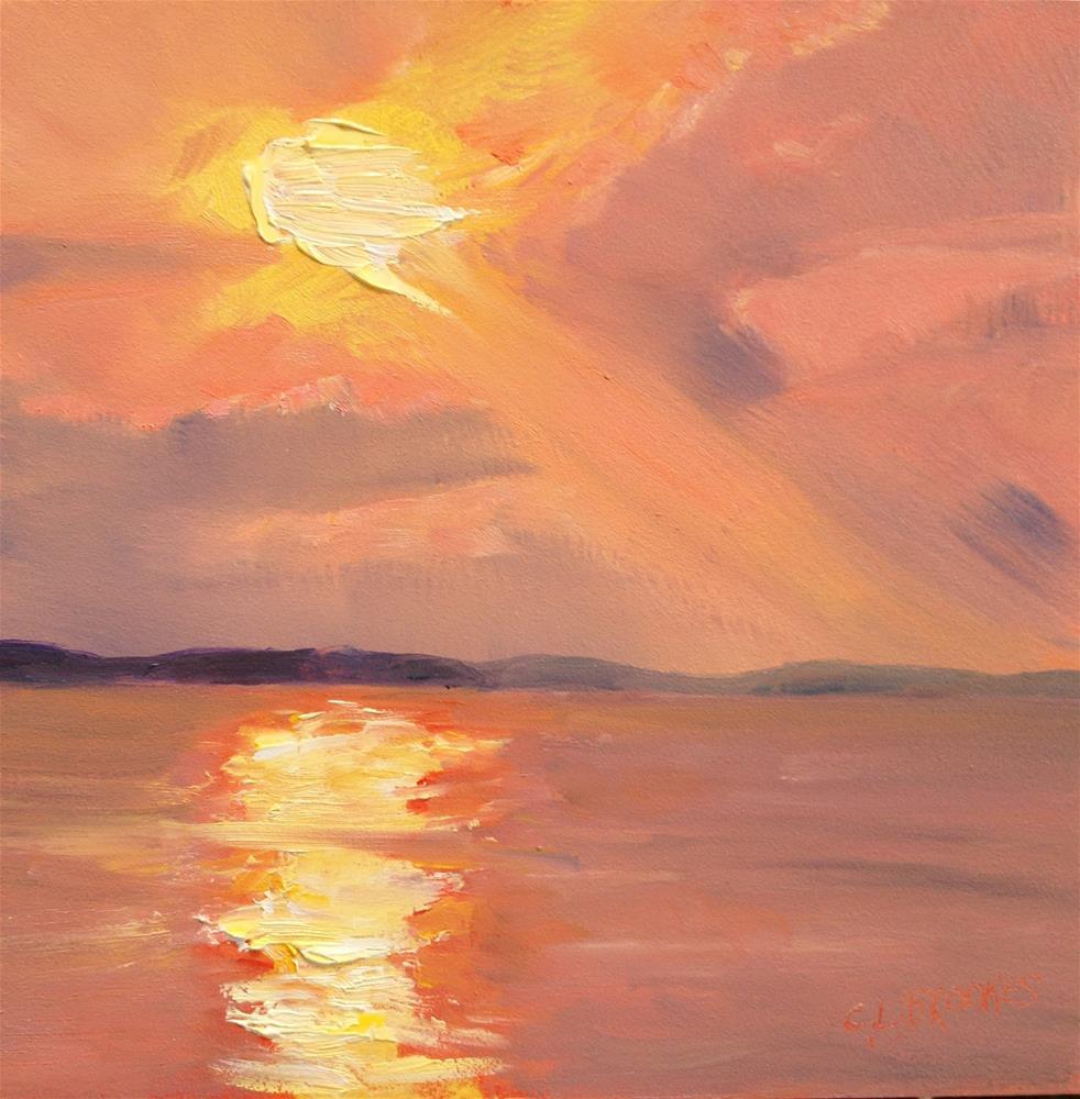 """Morning"" original fine art by Claudia L Brookes"