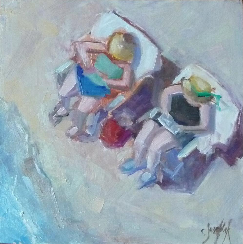 """""""Beach Magic"""" original fine art by Carol Josefiak"""