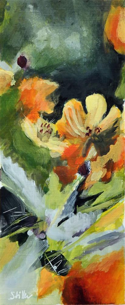 """2423 Flower Power - Kalifornischer Mohn"" original fine art by Dietmar Stiller"