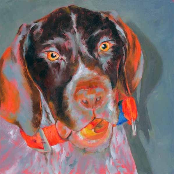 """Zac"" original fine art by Brenda Ferguson"