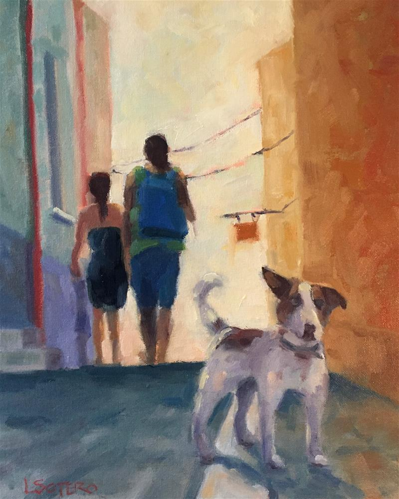 """Late Afternoon - Trapani, Sicily"" original fine art by Lisa Sotero"