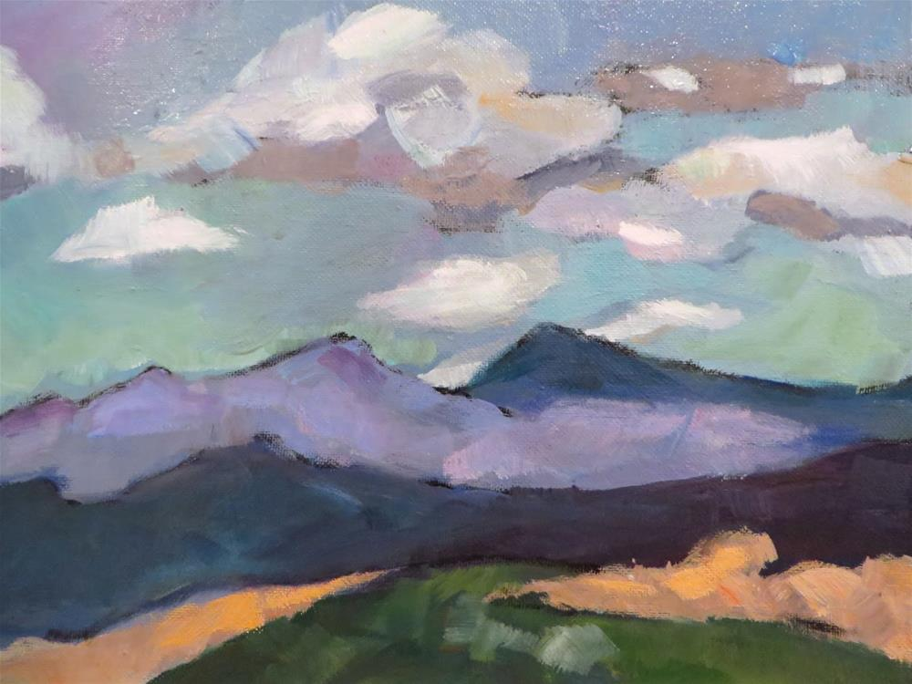 """708 Somewhere in New Mexico"" original fine art by Diane Campion"