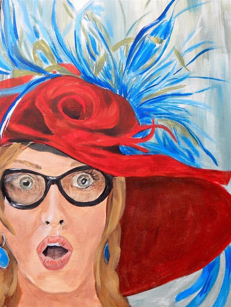 """Derby Winner!"" original fine art by cheryl buhrman"