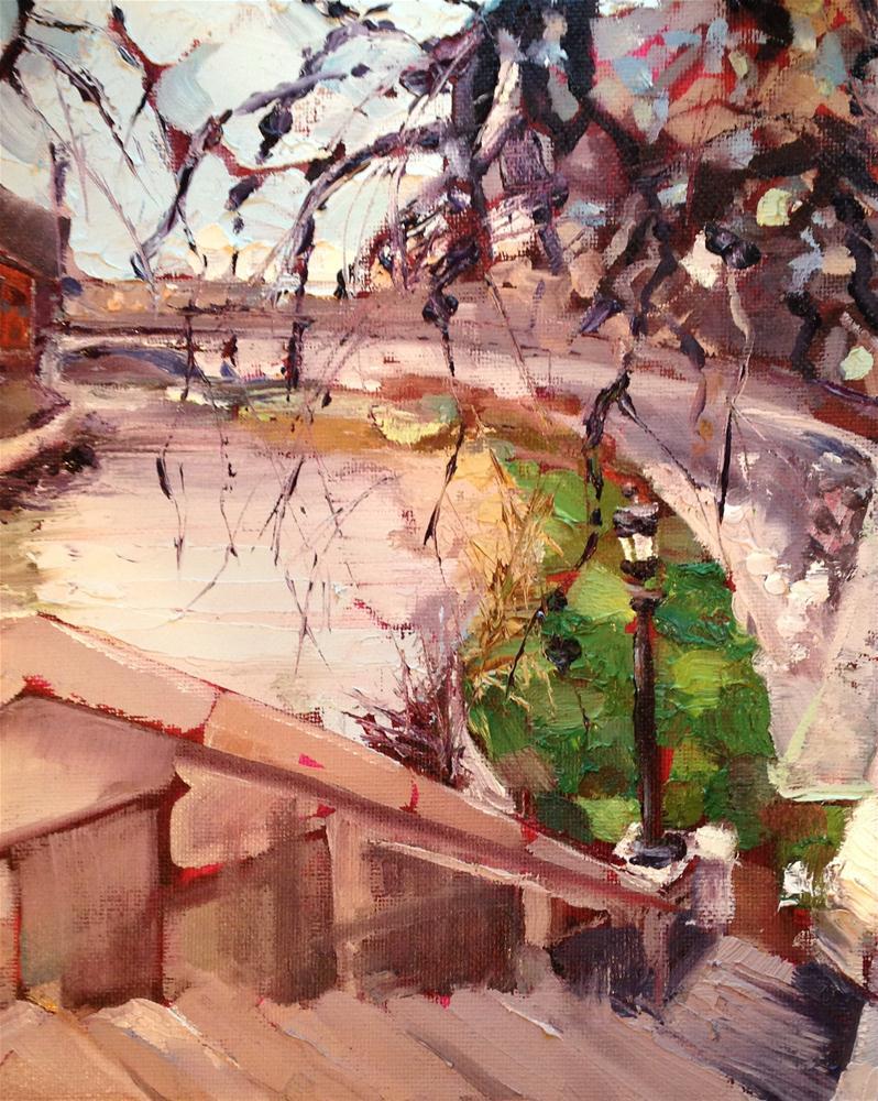 """Lonely Park"" original fine art by Kelly Alge"