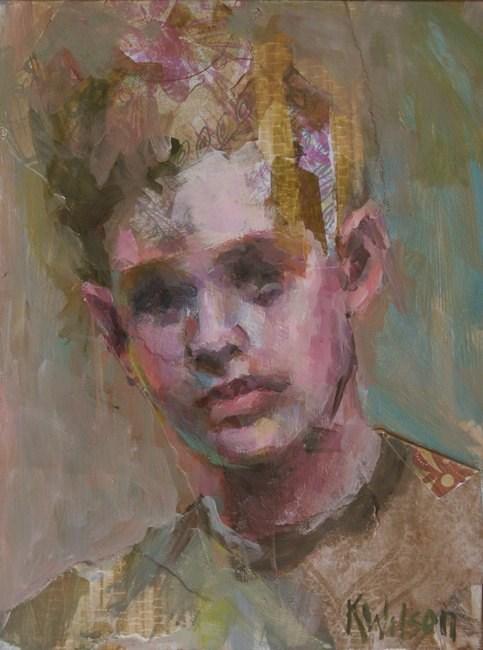"""""""Boy"""" original fine art by Katie Wilson"""