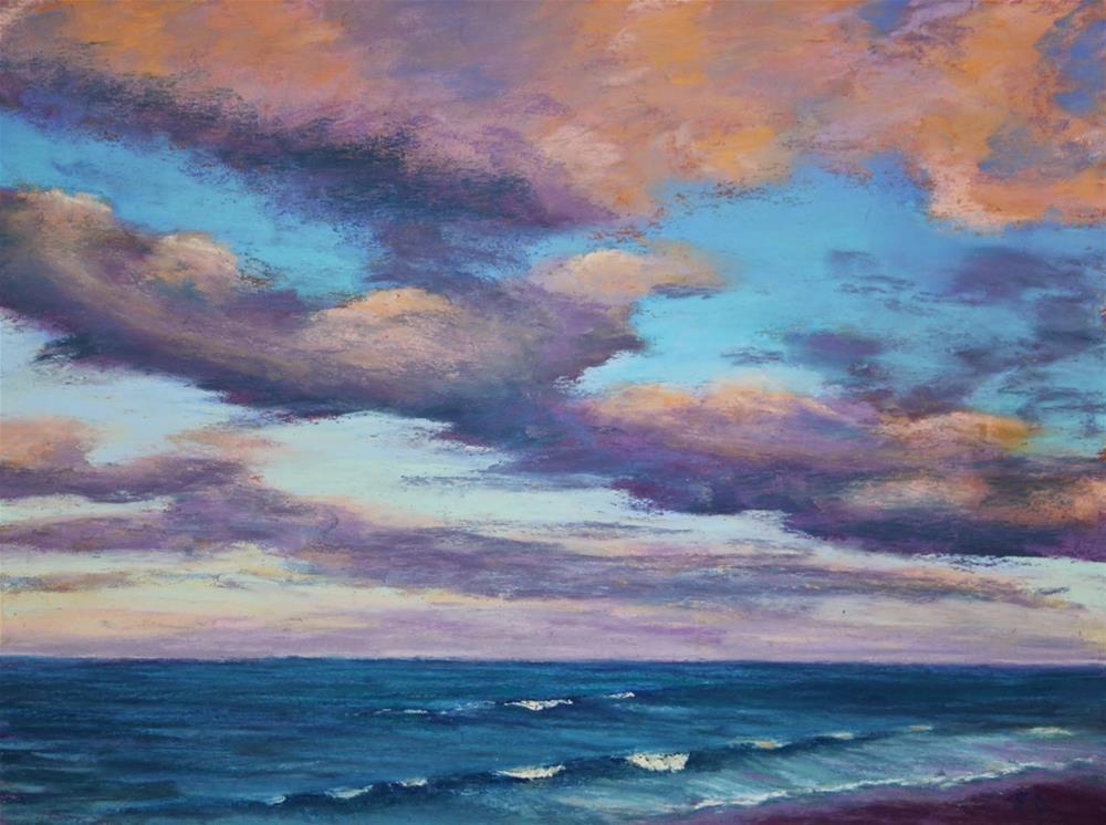 """Beach Memories"" original fine art by Sharon Lewis"