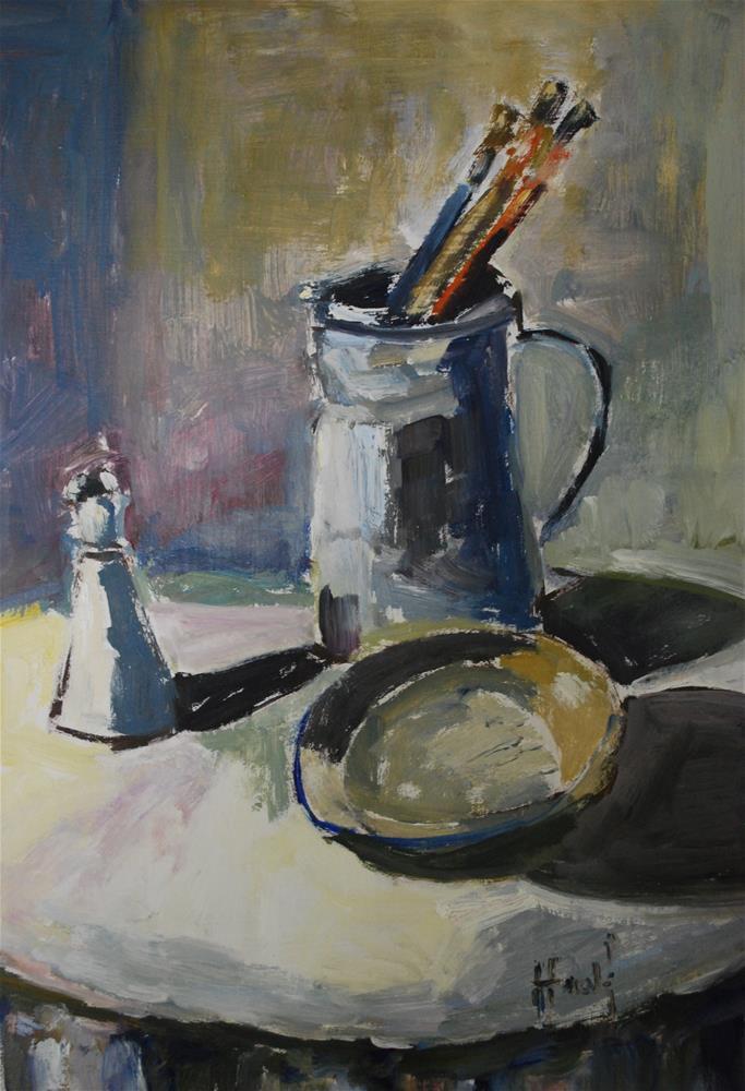 """Shades of Gray"" original fine art by Deborah Harold"
