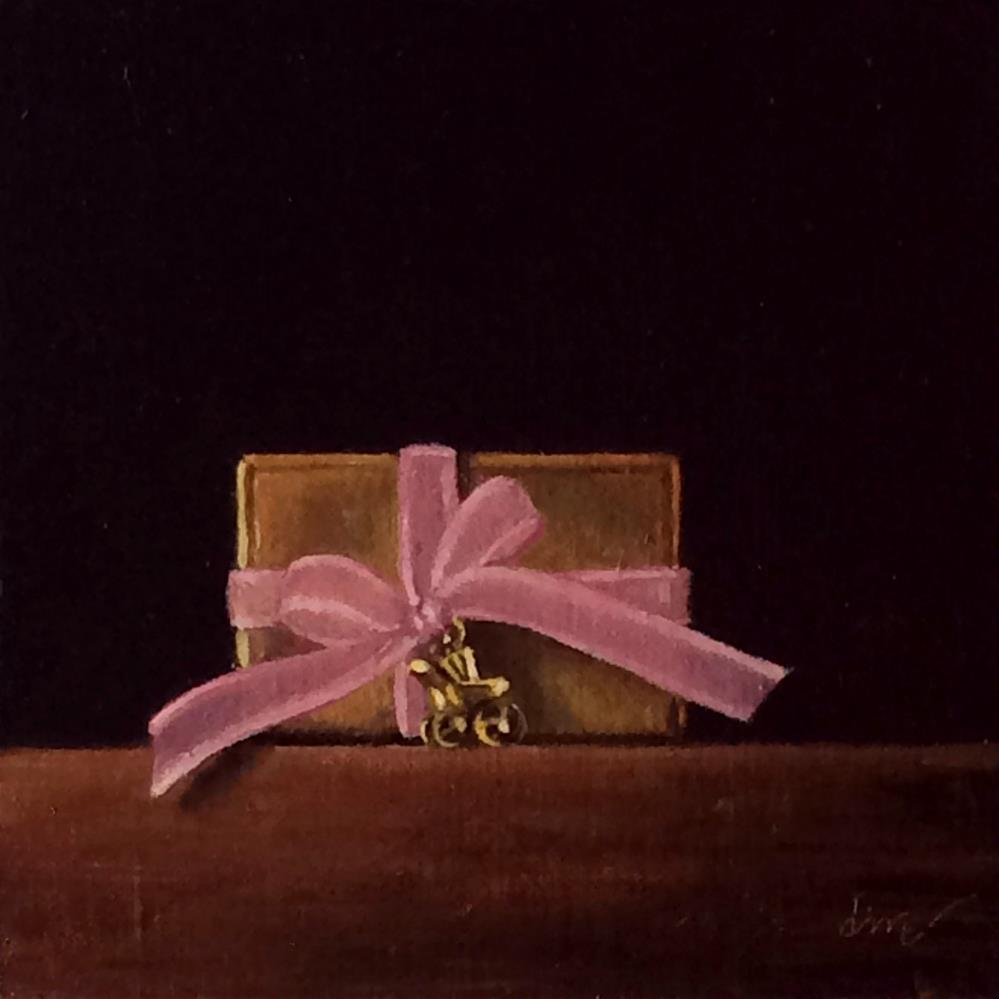 """""""It's a girl!"""" original fine art by Darla McDowell"""