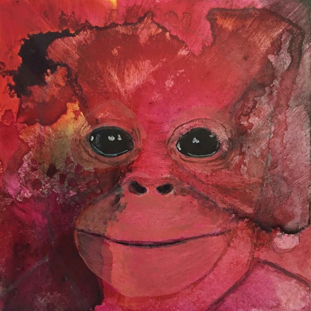 """#9 That Face!"" original fine art by Silke Powers"