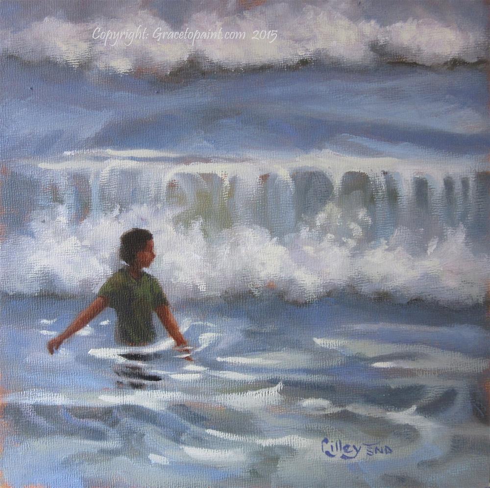 """Awash"" original fine art by Maresa Lilley"
