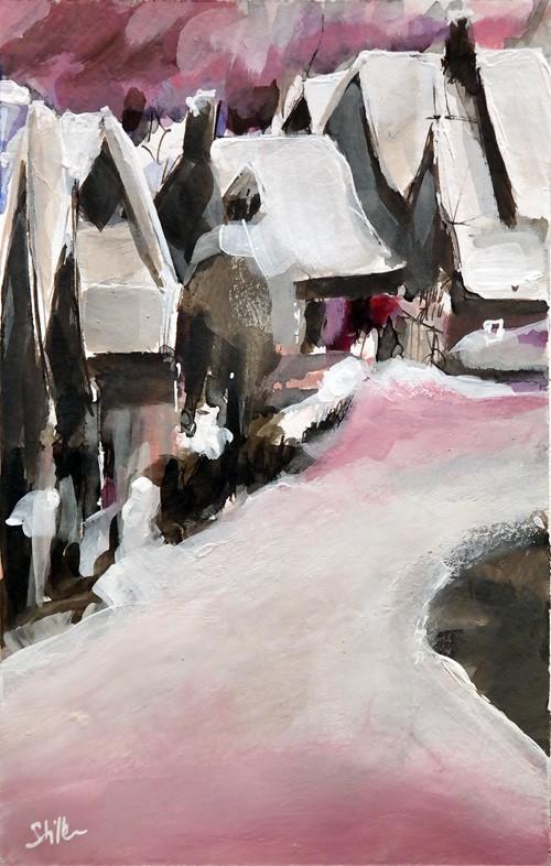 """""""2678 Christmas Land 02"""" original fine art by Dietmar Stiller"""