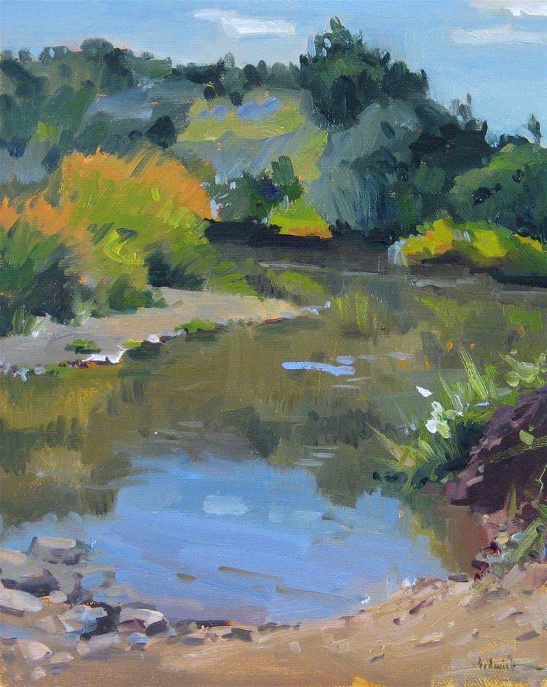 """A Bend in the River"" original fine art by Sarah Sedwick"