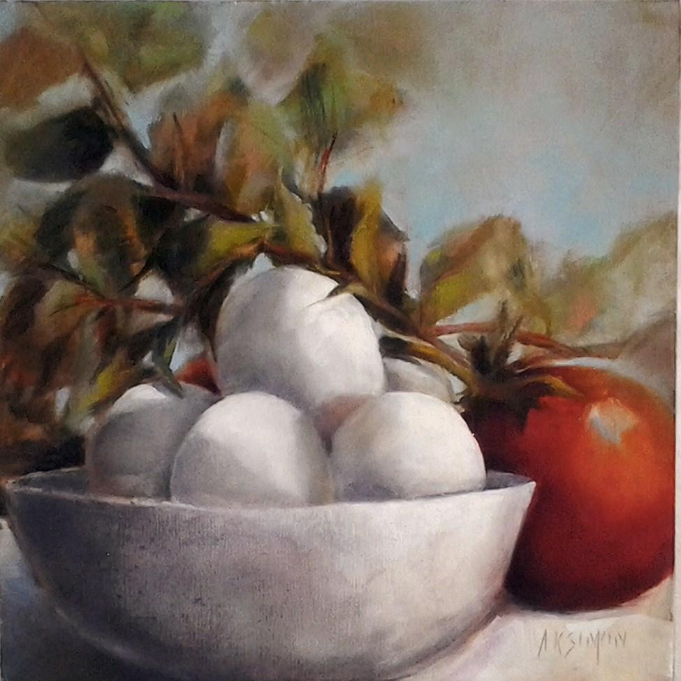 """Spring Forth"" original fine art by A.K. Simon"