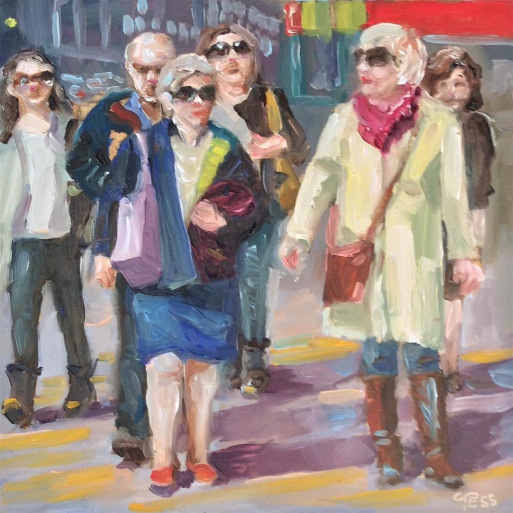 """""""Everyday People- Sly and The Family Stone"""" original fine art by Tess Lehman"""