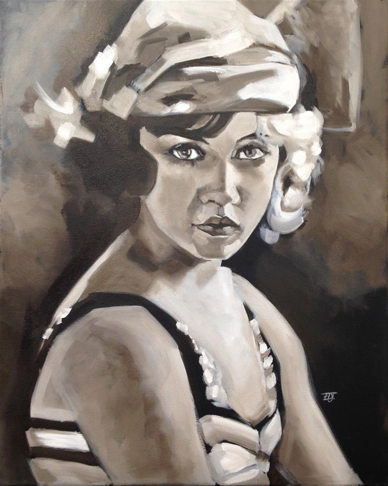 """Doris"" original fine art by Elizabeth Dawn Johnston"