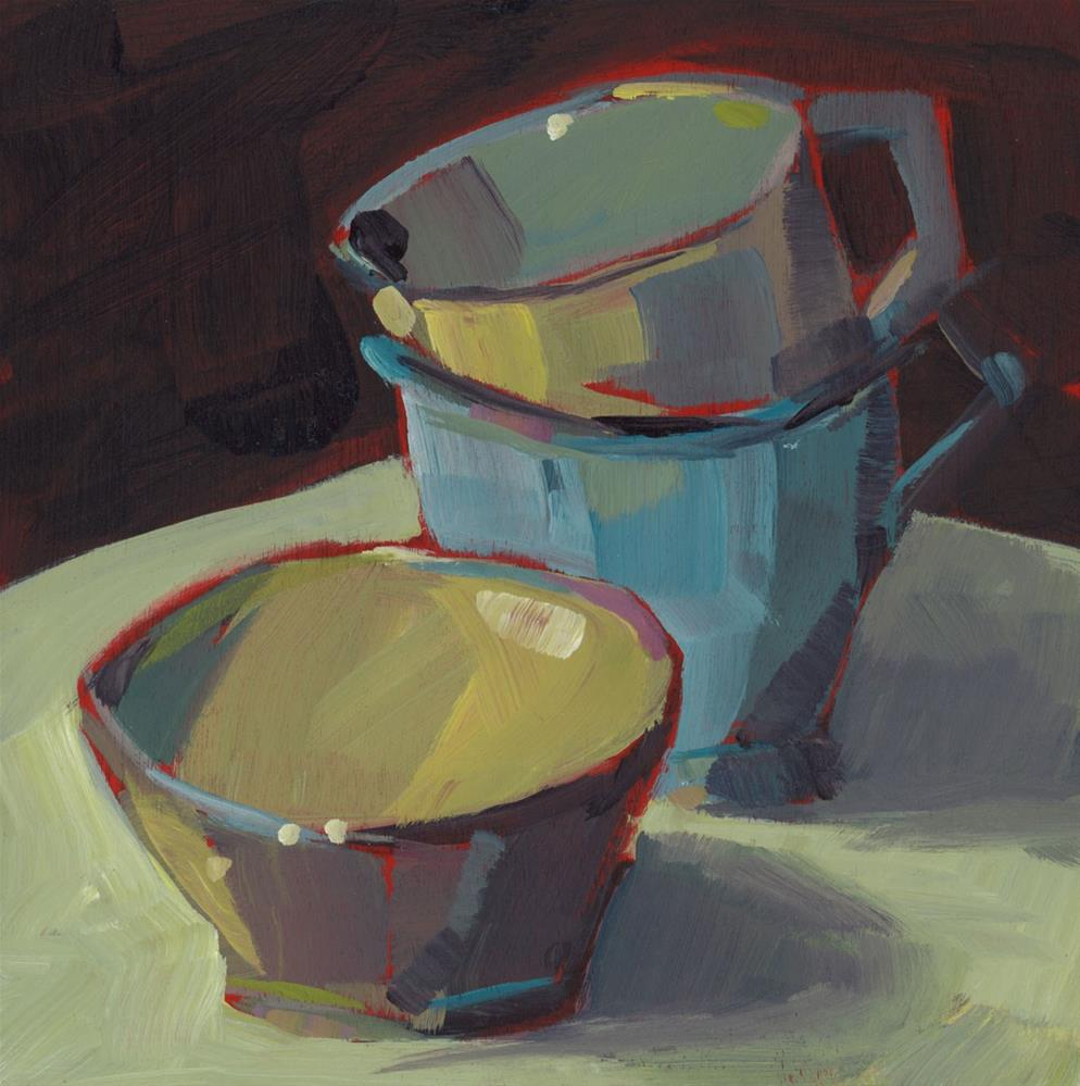 """0785: I Need a Cup"" original fine art by Brian Miller"