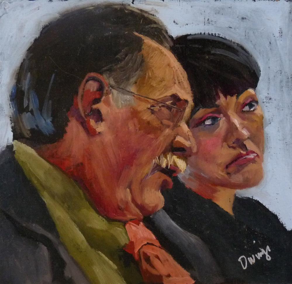 """The Advisor"" original fine art by Sharman Owings"