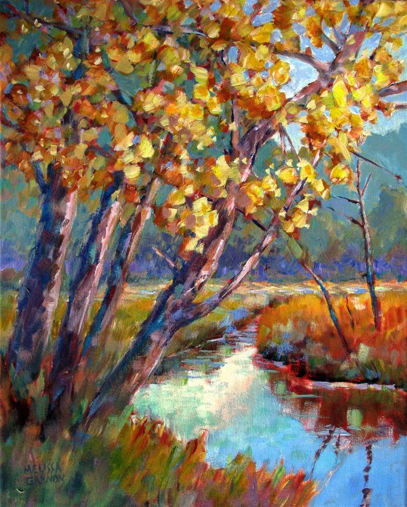 """""""Waltz of Autumn"""" original fine art by Melissa Gannon"""
