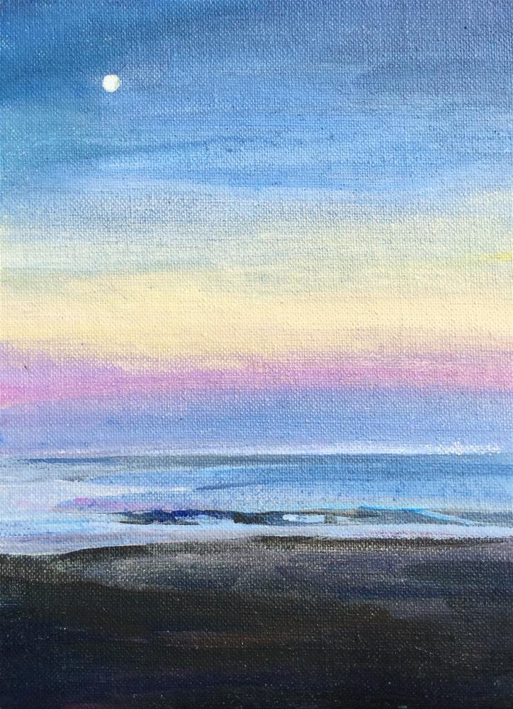 """""""Ocean Ciry II"""" original fine art by Lauren Kuhn"""
