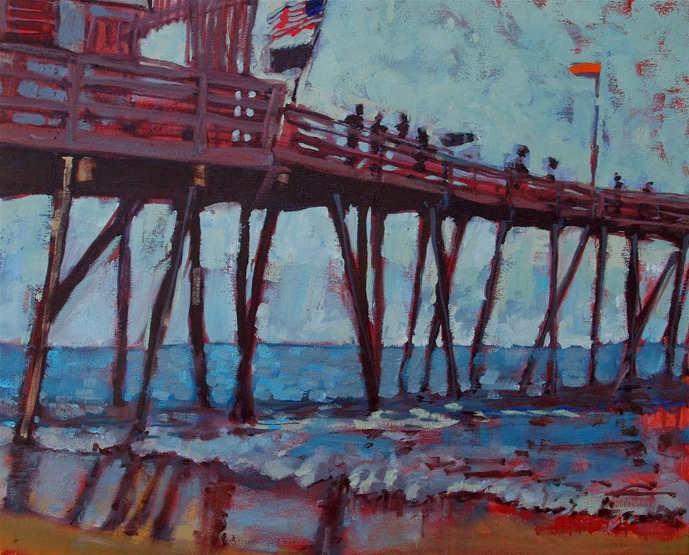 """Low Tide"" original fine art by Rick Nilson"