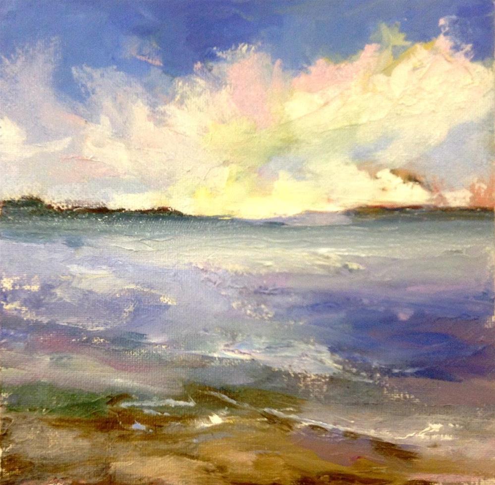 """""""On The Beach"""" original fine art by Cathy Boyd"""