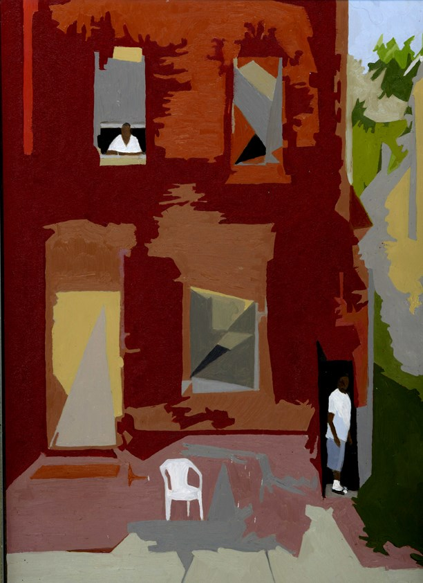 """City Summer #2"" original fine art by Nancy Herman"