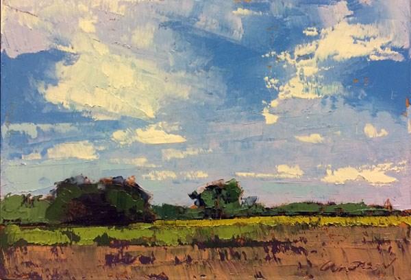 """""""Summer Morning Light"""" original fine art by Mary Gilkerson"""