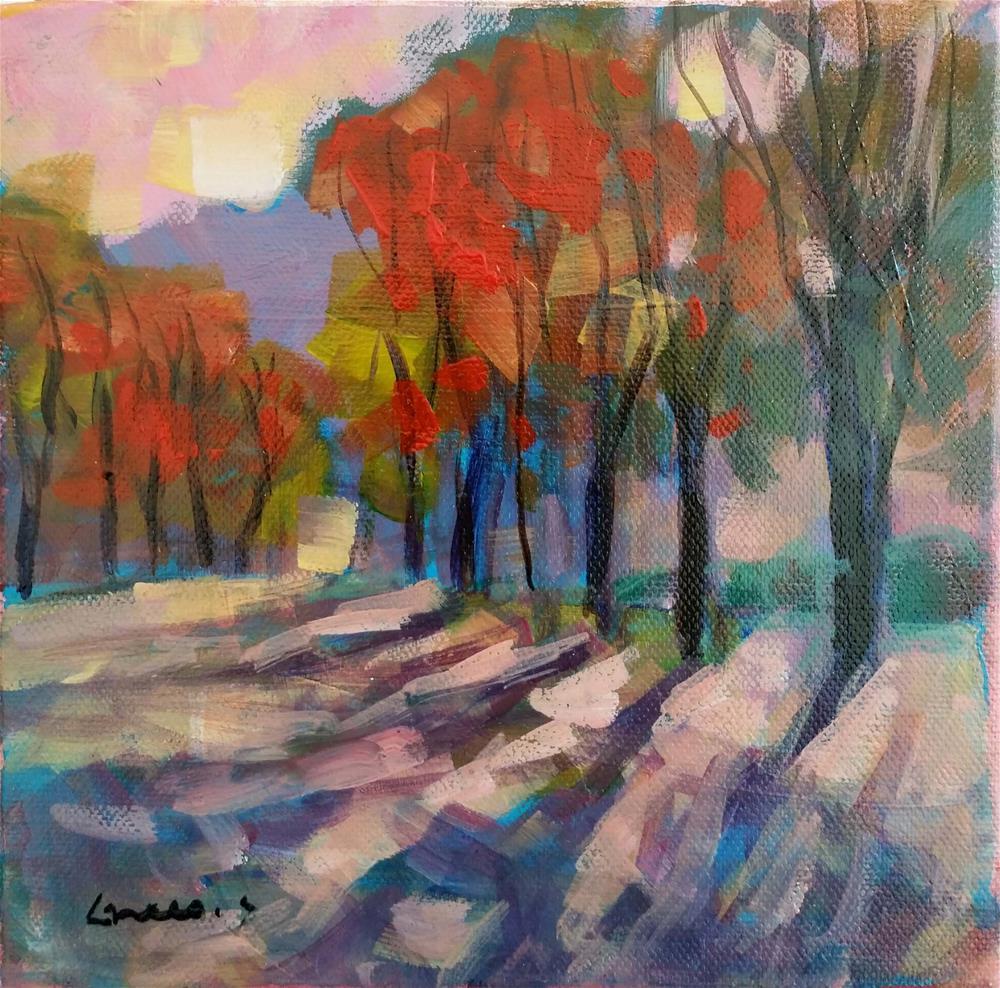 """""""landscape #3"""" original fine art by salvatore greco"""