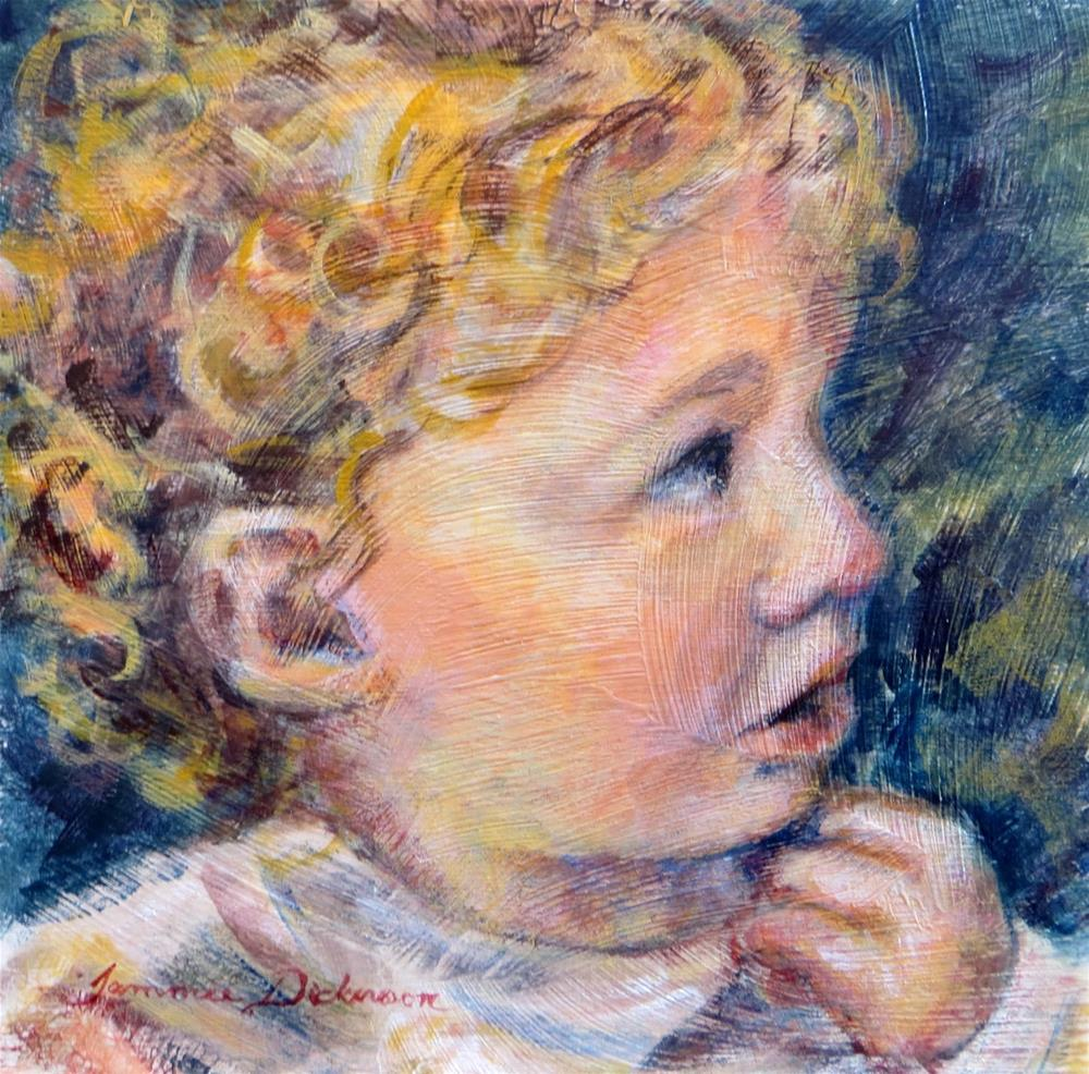 """""""Wonder"""" original fine art by Tammie Dickerson"""