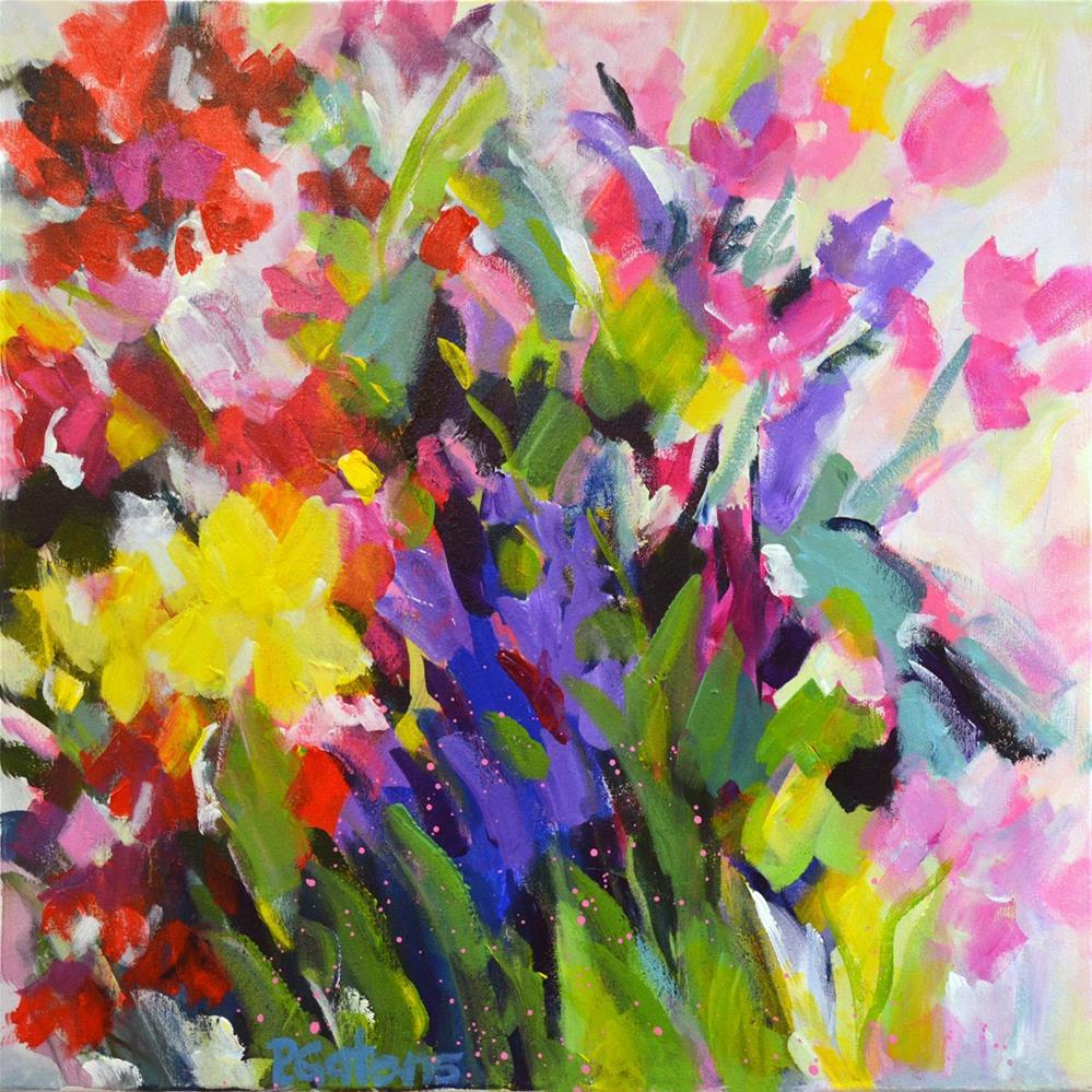 """""""Garden Melody"""" original fine art by Pamela Gatens"""