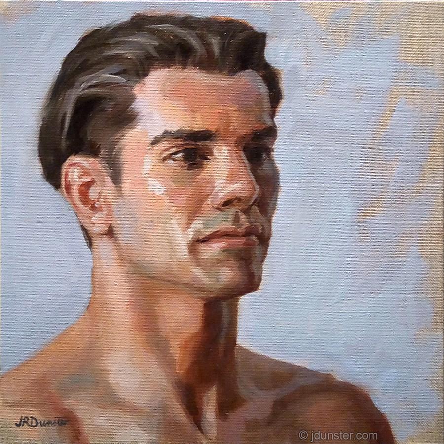 """Timeless Portrait"" original fine art by J. Dunster"