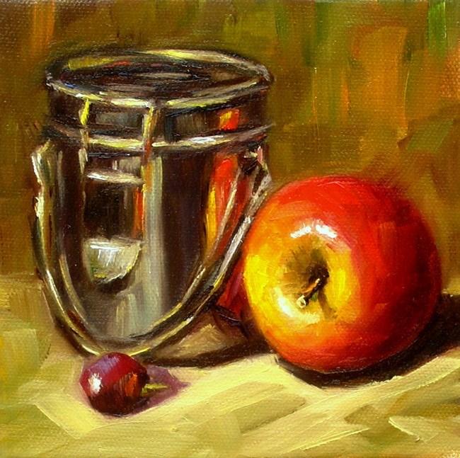 """Apple study"" original fine art by Irina Beskina"