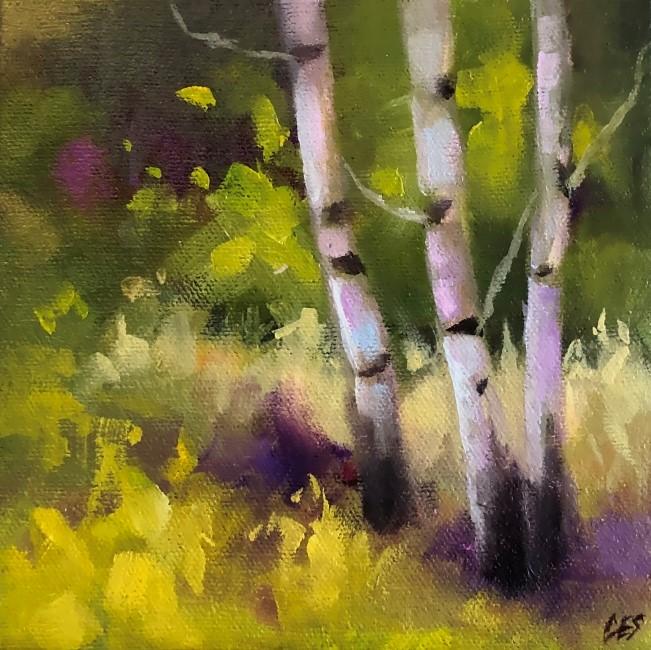"""""""Spring Amusement"""" original fine art by ~ces~ Christine E. S. Code"""