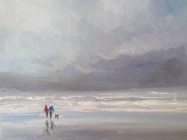 """Before the storm study"" original fine art by Astrid Buchhammer"