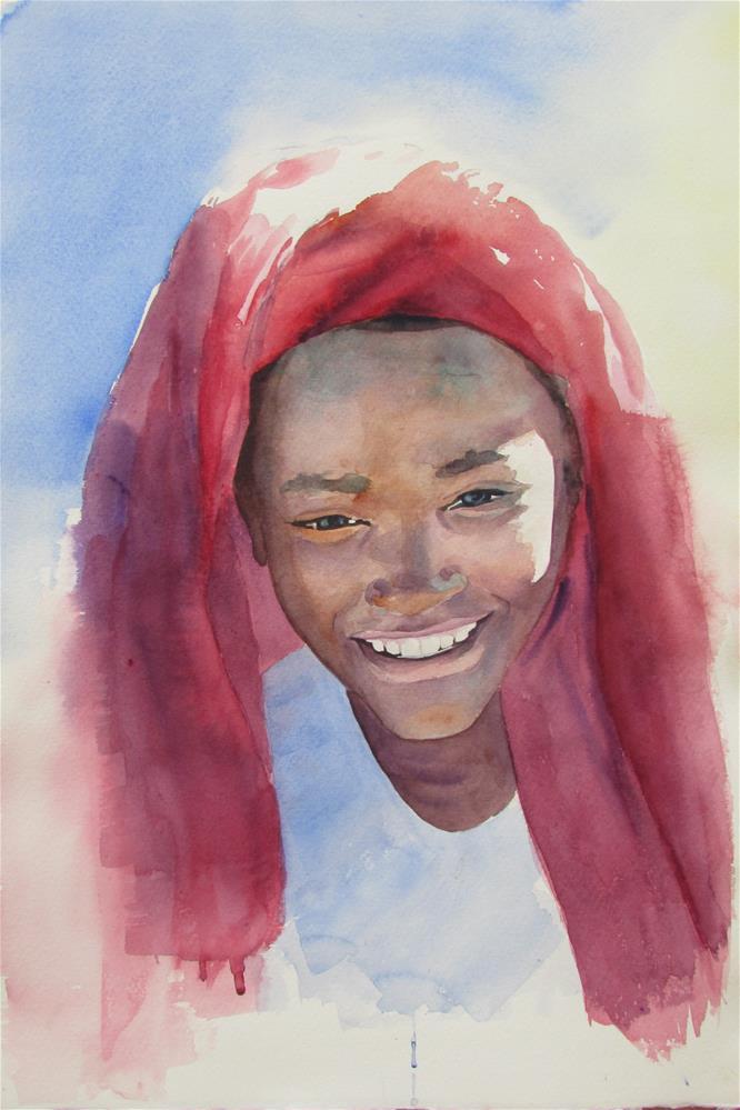 """Joy"" original fine art by Yolanda Moreno"