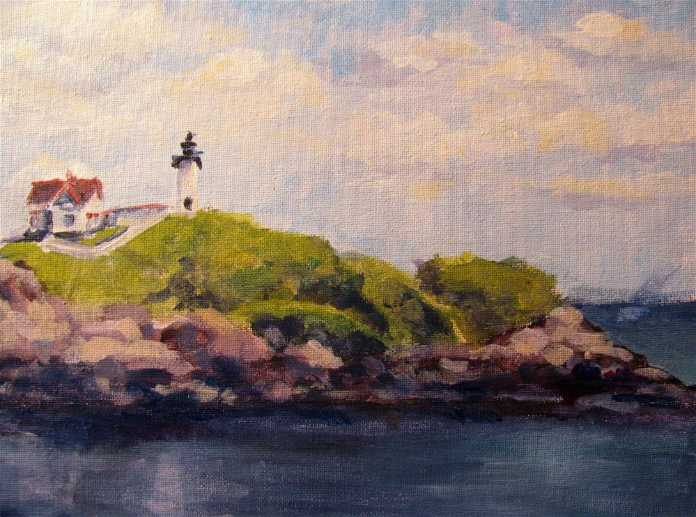 """Beacon"" original fine art by Susan Elizabeth Jones"