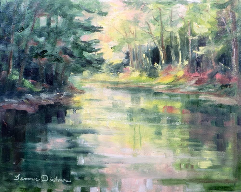 """""""Portage Reflections"""" original fine art by Tammie Dickerson"""