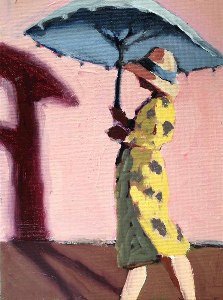 """Late Afternoon Shadow"" original fine art by Pamela Hoffmeister"