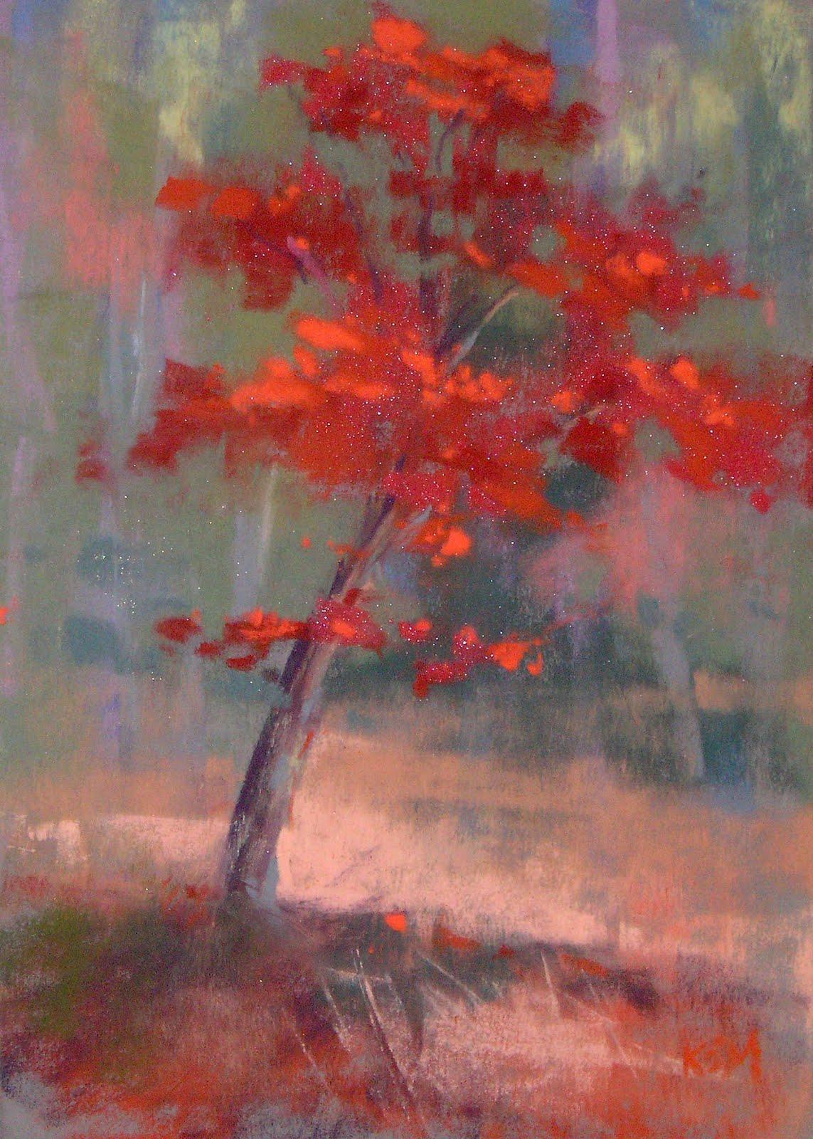 """Plein Air in the Beautiful North Georgia Mountains"" original fine art by Karen Margulis"